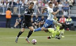 Thắng dễ Malaga 2 - 0, Real trở thành tân vương của La Liga