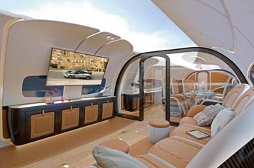 """Công nghệ 360: Thiết kế mới của Airbus gây sửng sốt với trần máy bay """"trong suốt"""""""