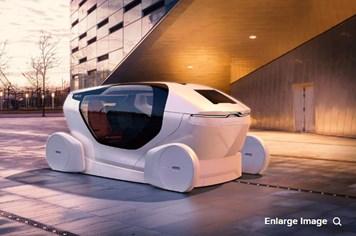 Công nghệ 360: Ra mắt mẫu xe tự lái NEVS InMotion kết hợp... văn phòng làm việc