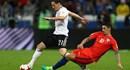 Chia điểm 1-1, Đức và Chile tràn trề cơ hội dắt tay nhau đi tiếp