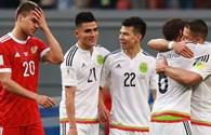 Loại Nga với tỉ số 2 - 1, Mexico tiến vào bán kết Confederations Cup