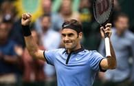 Thắng kịch tính Khachanov 2 - 0, Federer tiến vào chung kết Halle Open 2017