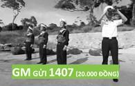 Nhắn GM gửi 1407 ngay hôm nay để giúp đỡ các gia đình thương binh, liệt sĩ khó khăn