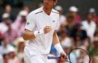 Thắng vất vả Paire 3 - 0, Murray ghi danh vào tứ kết Wimbledon