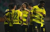 Aubameyang lập cú đúp, Dortmund thắng dễ Milan 3 - 1