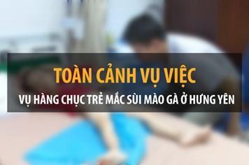 Infographic: Toàn cảnh vụ trẻ bị sùi mào gà hãi hùng ở Hưng Yên