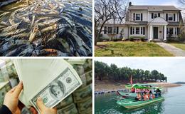 Kinh tế 24h: Đại gia Việt chi 3 tỉ USD mua nhà ở Mỹ; Xả đáy hồ Hòa Bình, hàng trăm tấn cá bị chết