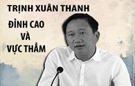 Infographic: Trịnh Xuân Thanh - đỉnh cao và vực thẳm