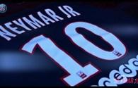 """Video: PSG Chính thức xác nhận """"bom tấn"""" Neymar sẽ mang áo đấu số 10"""