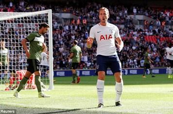 Tottenham nổi sung đánh bại Juventus ngay trên sân nhà Wembley