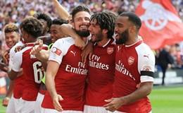 Thắng Chelsea ở loạt đấu súng nảy lửa, Arsenal giành Siêu cúp Anh 2017