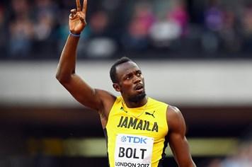 Usain Bolt thua sốc, chỉ về thứ 3 ở giải vô địch điền kinh thế giới