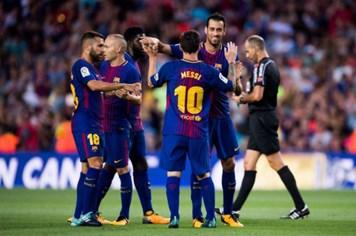 Barca thắng đậm Chapecoense 5 - 0 trong trận giao hữu cuối cùng trước mùa giải mới