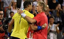 Rafael Nadal bất ngờ thua sốc tay vợt trẻ Shapovalov
