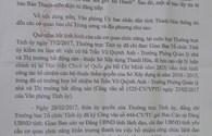 """UBND tỉnh Thanh Hóa chỉ đạo thanh tra việc """"thăng quan thần tốc"""" của bà Trần Vũ Quỳnh Anh"""
