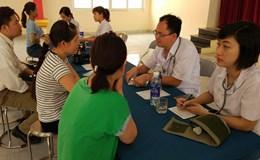 Thanh Hóa: Hàng trăm công nhân được khám, phát thuốc miễn phí
