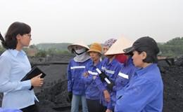 Chị Ngô Thu Kiều An – Trưởng ban Nữ công CĐ Cty CP than Núi Béo (Tập đoàn CN Than - khoáng sản VN):