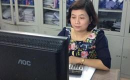 Chị Nguyễn Thị Bình Minh – Phó trưởng Phòng Tài chính kế toán, Trưởng ban Nữ công CĐ Cty CP CMC (TCty Sông Hồng)