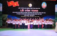 LĐLĐ tỉnh Thái Nguyên: Tôn vinh 85 công nhân, cán bộ công đoàn tiêu biểu