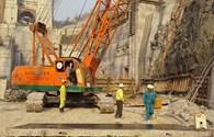 Công nhân trên công trình thủy điện Lai Châu : Thi đua hoàn thành vượt mức kế hoạch năm 2014
