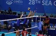 Bóng chuyền nam thất bại trước Thái Lan trong trận chung kết