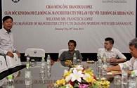 Man City bàn bạc việc mở học viện bóng đá với SHB Đà Nẵng
