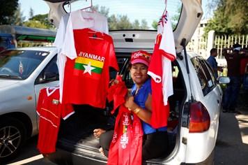 """AFF Cup 2016 ở Myanmar vắng """"phe"""" vé"""