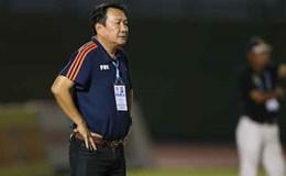 HLV Hoàng Văn Phúc nói gì về bàn thua oan của Quảng Nam?
