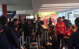 Lịch thi đấu giao hữu của U20 Việt Nam tại Đức