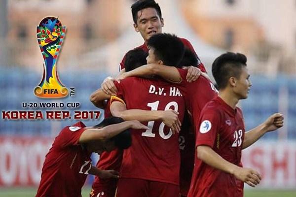 Tất cả các trận đấu của U20 Việt Nam được VTV phát sóng trực tiếp. Ảnh: VTV