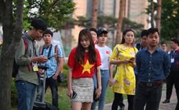 Cổ động viên bị đuổi vì U20 Việt Nam bất ngờ tập kín