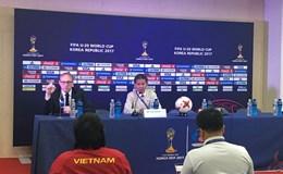 HLV Hoàng Anh Tuấn tin U20 Việt Nam có cơ hội đi tiếp