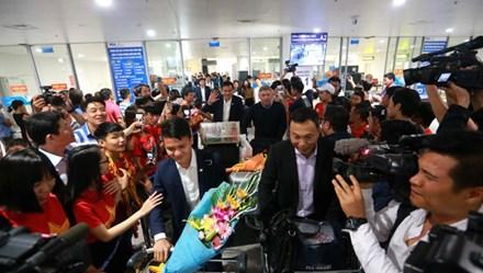 Kết thúc hành trình World Cup, U20 Việt Nam về nước trong tự hào
