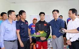 Người Thái chọn U22 Việt Nam để cùng vào bán kết SEA Games 29