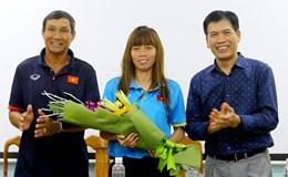 """Đội tuyển nữ Việt Nam """"xin"""" thuốc y tế trước thềm SEA Games 29"""