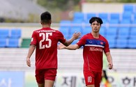 """""""Khởi động"""" SEA Games 29, U22 Việt Nam dội mưa gôn 6-1 trước Busan"""