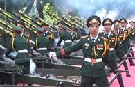 Cận cảnh 25 khẩu pháo bắn tập trước thềm đại lễ