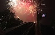 Bầu trời thủ đô bừng lên sáng rực dưới màn pháo hoa mừng Quốc khánh