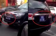 Nóng nhất 24H: Tước bằng lái tài xế lái xe biển xanh chạy ngược chiều