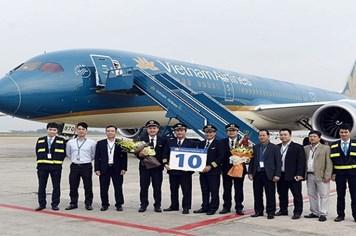 Nóng 24h: Việt Nam tiếp nhận thêm máy bay Boeing 787-9 hiện đại nhất thế giới