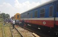 Hi hữu 2 tàu hoả cùng trật bánh cùng ở ga Yên Viên, Trưởng ban An toàn đường sắt nói gì?