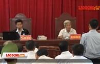 Vụ xét xử 14 bị cáo sai phạm đất ở Đồng Tâm: Cựu Chủ tịch HĐND xã khai gì?