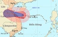 Bão số 10 áp sát các tỉnh từ Hà Tĩnh - Thừa Thiên-Huế