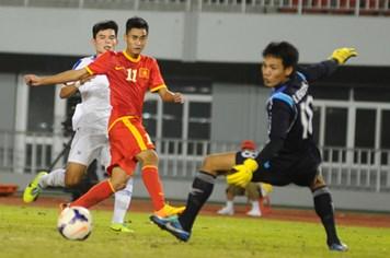 Ghi 5 bàn thắng, U.23 Việt Nam vùi dập U.23 Lào