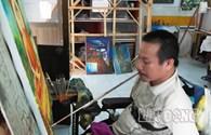 Tết con không về: Nỗi lòng tết xa quê của người họa sĩ tàn tật