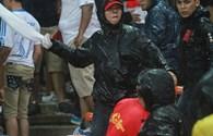 Cảnh sát hình sự cải trang chống gây rối ở Mỹ Đình