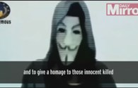 Video: Nhóm Anonymous tuyên bố đánh sập website liên quan đến khủng bố sau thảm kịch tại Paris