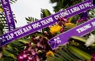 Video: Lễ tang đẫm nước mắt tiễn đưa 4 quân nhân hy sinh trong vụ máy bay quân sự rơi