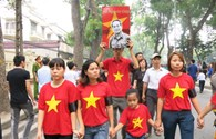 Người anh hùng dân tộc luôn ở trong trái tim bạn trẻ Việt Nam