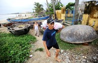 Chùm ảnh: Đà Nẵng hối hả di dân để phòng, chống bão số 14